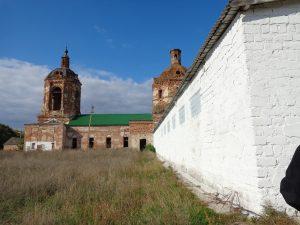 Никольская церковь с. Ширяево Воронежской области