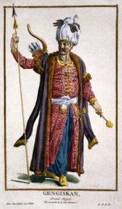 Ченгиз-ханФранцузская-гравюра-Пьера-Дюфло-Pierre-Duflos-1742-1816