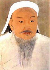1-портрет-Чингис-Хана-императора-Тайдзу