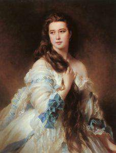 Portrait of Madame Barbe de Rimsky-Korsakov - Franz Xaver Winterhalter
