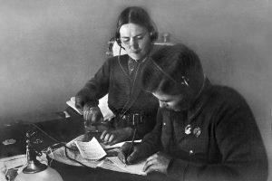Летчики М.Раскова и П.Осипенко, 1938 год